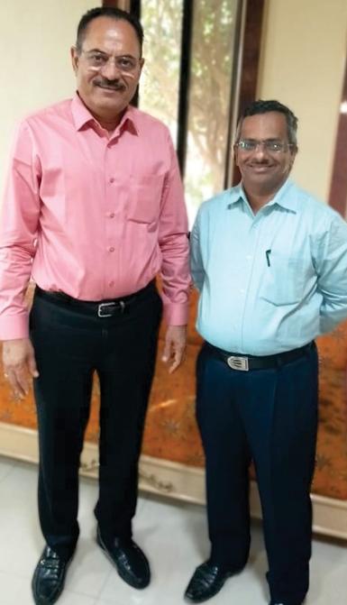 Chandubhai Virani and K.V UdayKumar