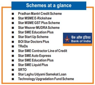 Bank Of India Schemes