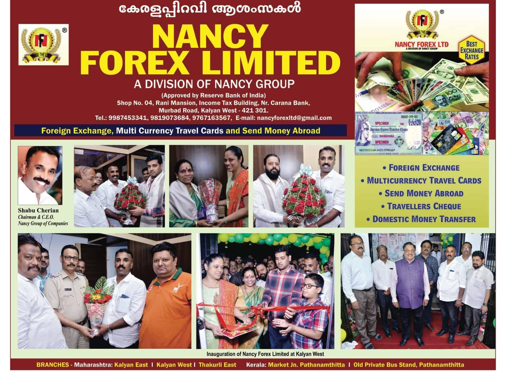nancy forex