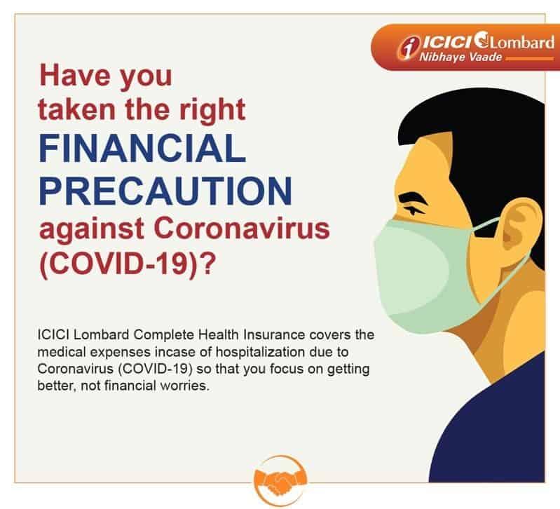 icici-lombard-health-insurance-covid-19