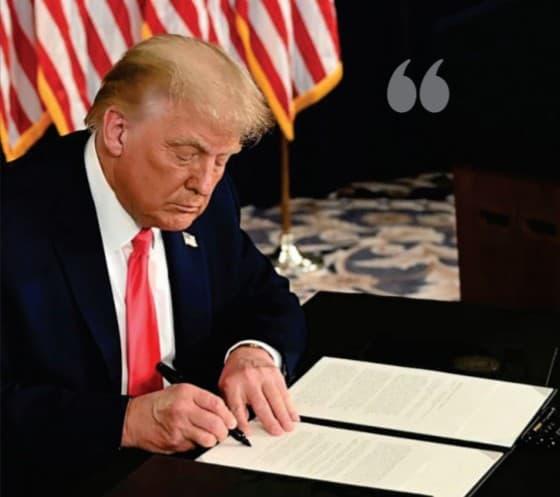 Donald Trump $900 Billion aid
