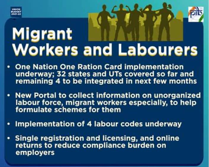 Migrant Workers & Labourers